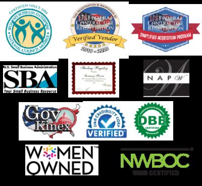 Signature Staffing Certification Logos